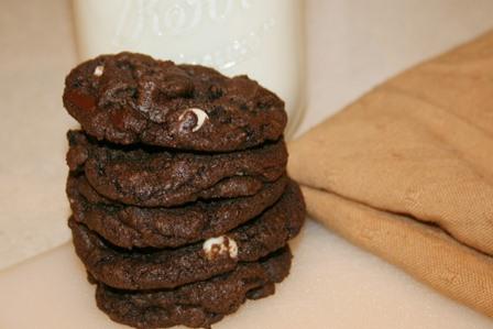Triple Chocolate Chunk Cookie Recipe | Jen's Favorite Cookies