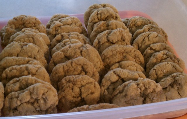 These cookies are just perfect for a fall day. Serve them with a big ...