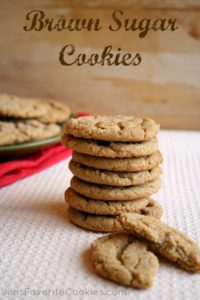 brown sugar cookie recipe