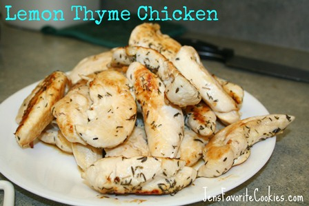 Lemon Thyme Chicken Tenders