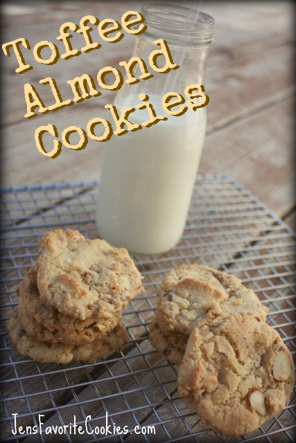 Toffee Almond Cookie