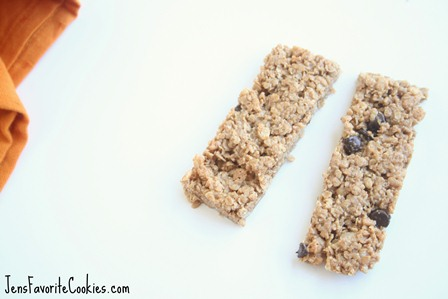 Granola Bars with Peanut Butter