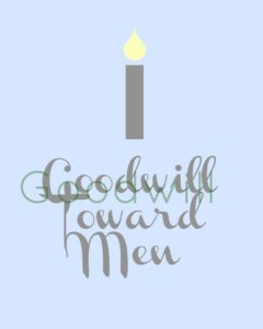 Goodwill Toward Men