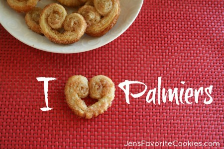 Palmier cookie