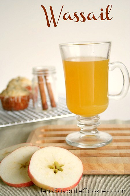 hot wassail recipe