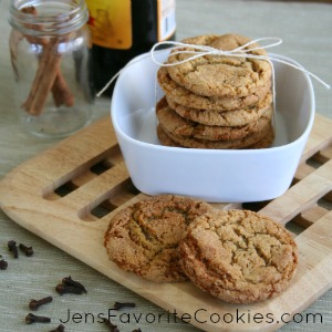 Molasses snickerdoodles
