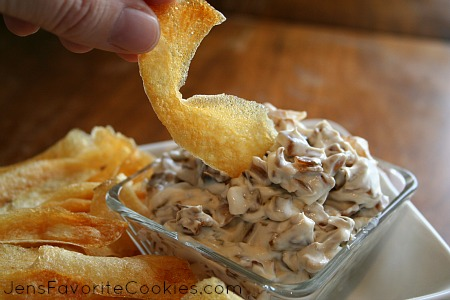 sour cream onion dip
