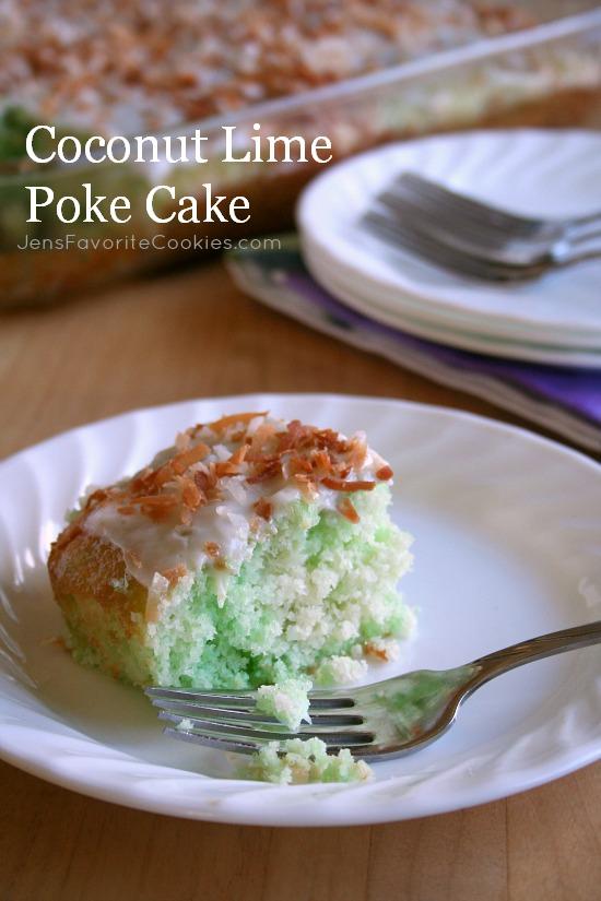 coconut lime poke cake tall1a