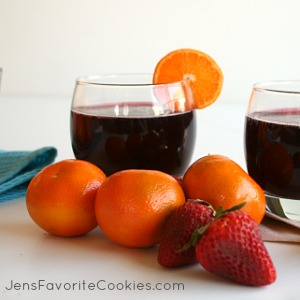 non alcoholic Sangria mocktail is great for kids. This non alcoholic ...